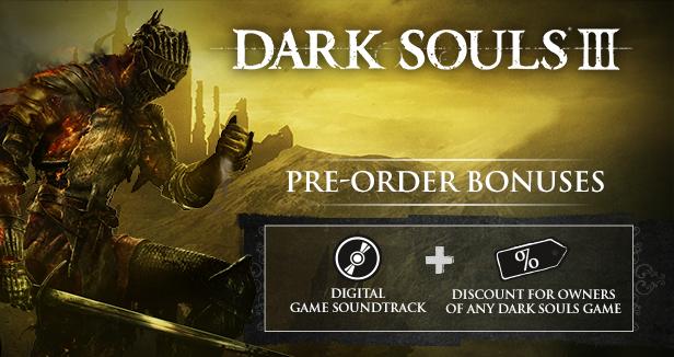 DS3 Pre-order Bonus