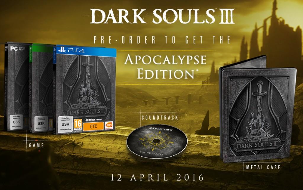 DarkSouls III édition apocalypse