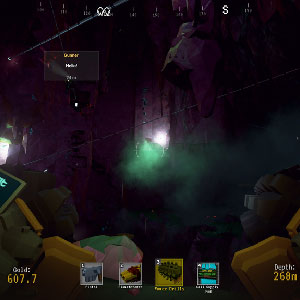 Deep Rock Galactic veines d