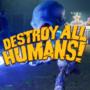 La nouvelle caravane de Destroy All Humans nous accueille dans Turnipseed Farm