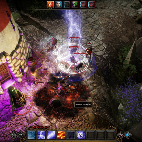 Divinity Original Sin PS4 Fight de combat
