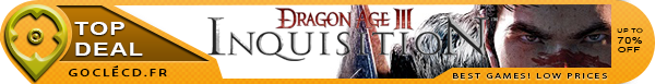 Dragon Age Inquisition moins cher