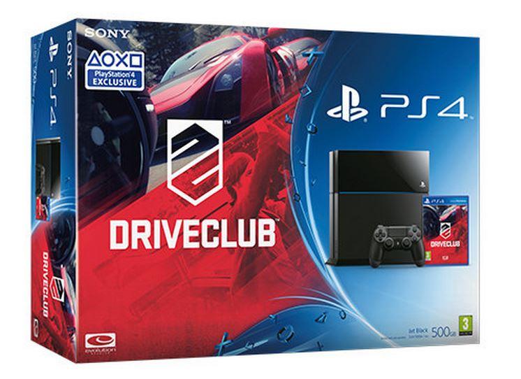 Nouveau pack Playstation 4 avec DriveClub
