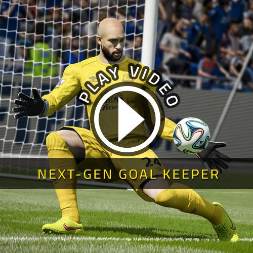 FIFA 15 Gardien de but nouvelle génération