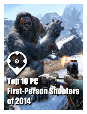 Le Top 10 FPS sur PC de 2014
