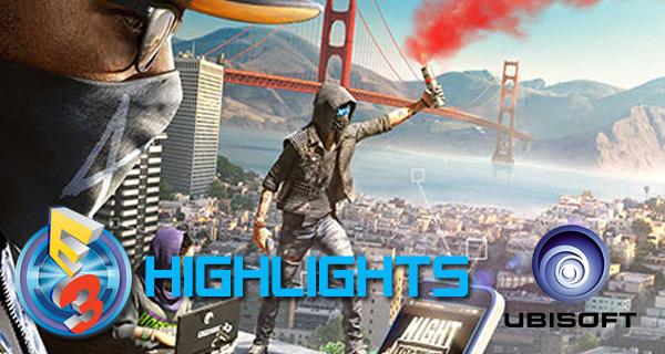 Résumé de l'E3 2016 d'Ubisoft