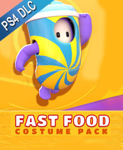 Fall Guys Fast Food Costume Pack