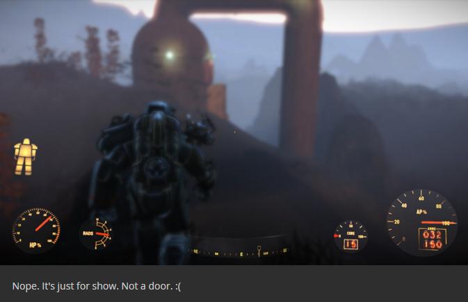 Fallout 4 Sous l'eau