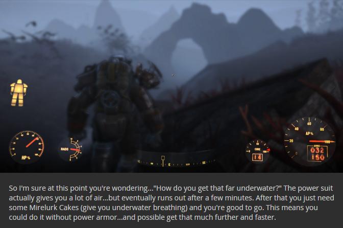 Fallout 4 Fond marin