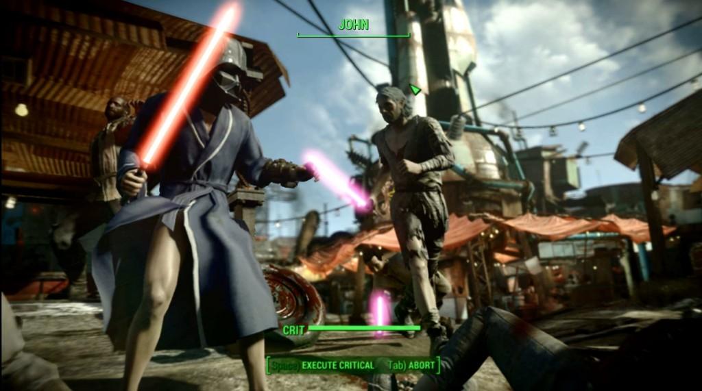 Fallout 4 mode Jedi