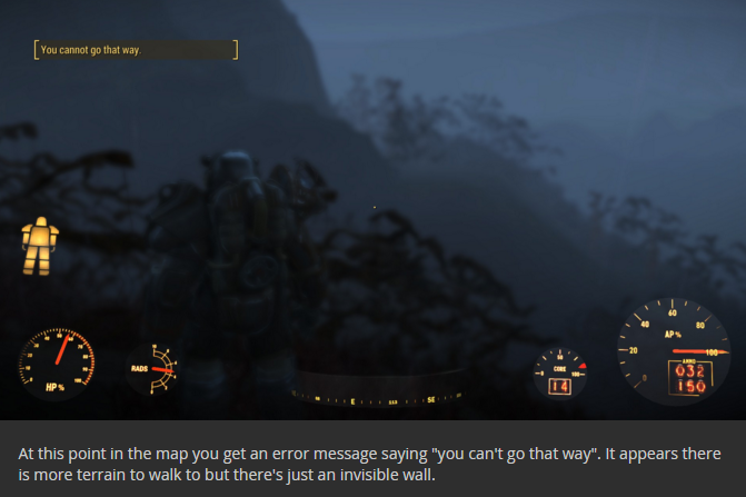 Fallout 4 Découverte dans l'eau