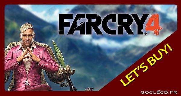 Far Cry 4 au meilleur prix