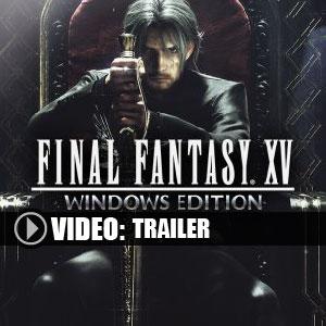 Acheter Final Fantasy 15 Clé Cd Comparateur Prix