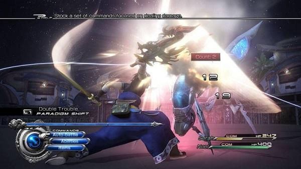 Final fantasy XIII-2 système de combat