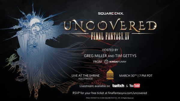 Final Fantasy XV date de sortie