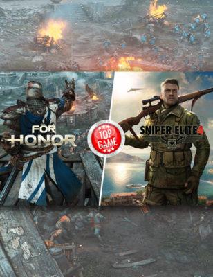For Honor et Sniper Elite 4 sont sortis hier !
