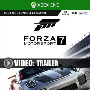 Acheter Forza Motorsport 7 Xbox One Code Comparateur Prix