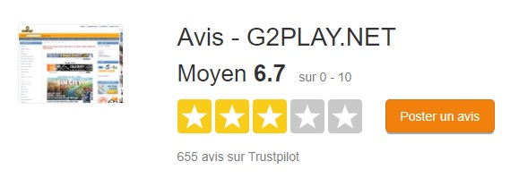 g2play trustpilot