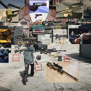 GTA 5 Armes