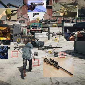 GTA 5 PS4 Armes