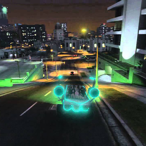 GTA 5 Voiture Alien - Space Docker