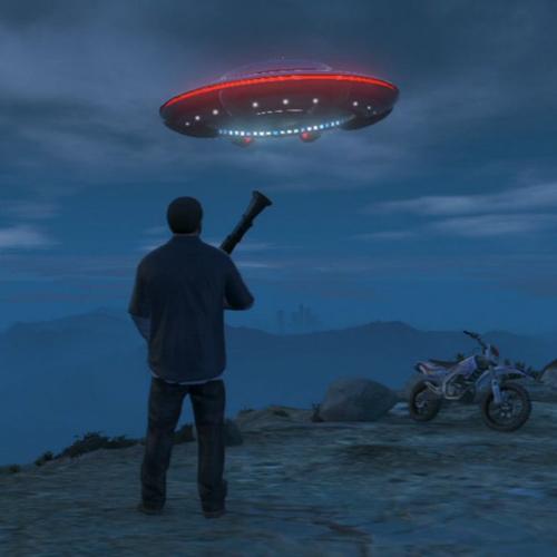 GTA 5 Vaisseau Extraterrestre