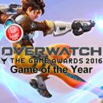 Overwatch reçoit le Prix du Jeu de l'Année aux Game Awards 2016 !