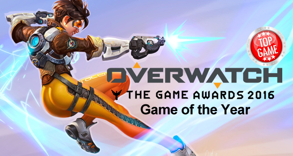 Overwatch prix du jeu de l'année Game Awards 2016