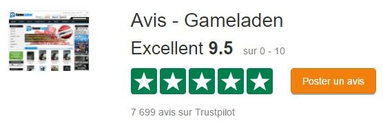 GameLaden trustpilot
