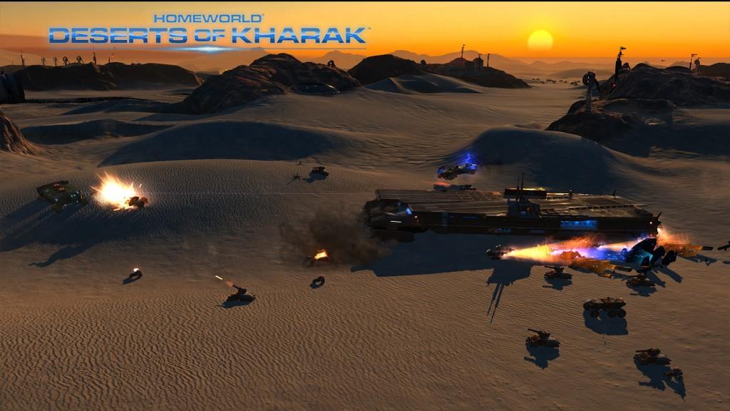 Gameplay Homeworld Deserts of Kharak