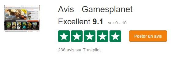 Gamesplanet trustpilot