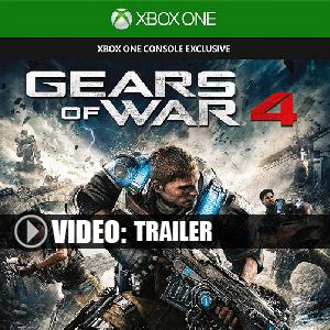 Gears of War 4 Xbox One en boîte ou à télécharger