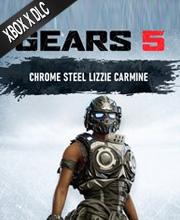 Gears 5 Chrome Steel Lizzie Carmine