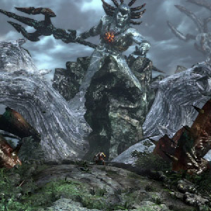 God of War 3 Remastered PS4 attaque