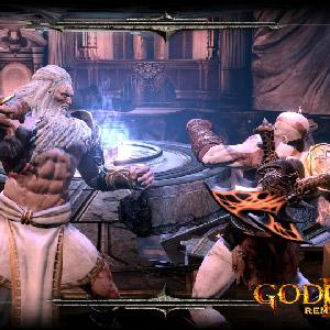 God of War 3 Remastered PS4 lutte