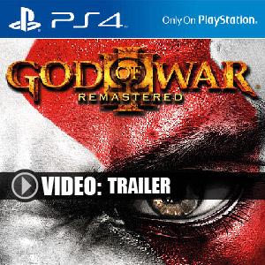 Acheter God of War 3 Remastered PS4 en boîte ou à télécharger