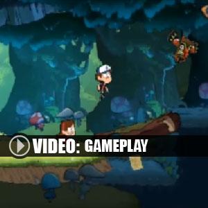 Gravity Falls Nintendo 3DS Gameplay Video