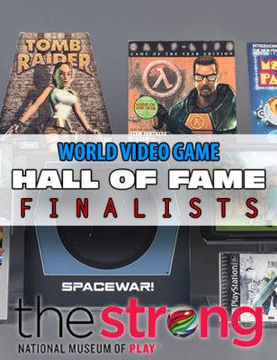 Voici les nominés de cette année pour le Hall of Fame Mondial du Jeu Vidéo