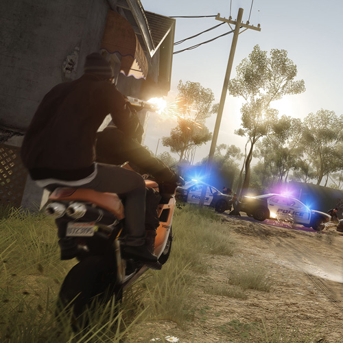 Battlefield Hardline PS4 Mode Hotwire