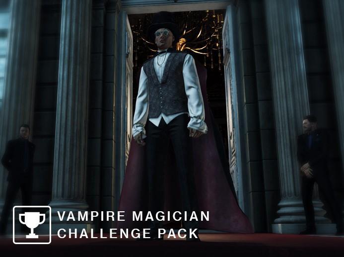 Hitman vampire magician challenge