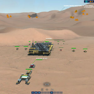 Homeworld Deserts of Kharak combat