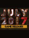 Sorties de jeux de juillet 2017