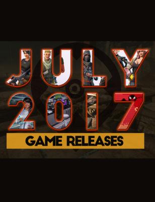 Sorties de jeux de juillet 2017 : Voici cinq nouveaux jeux pour ce mois !