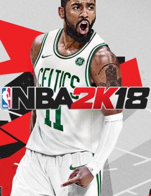 La nouvelle couverture de NBA 2K18 dévoilée avec Kyrie Irving portant un maillot des Celtics