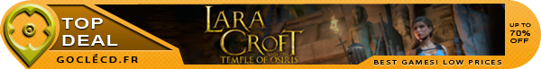 Lara Croft and the Temple of Osiris pas cher