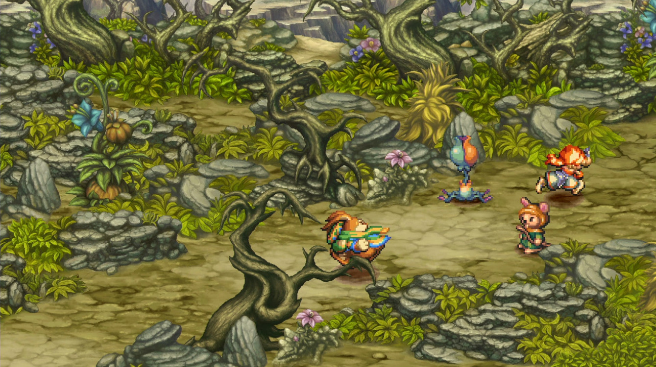 Legend of Mana Environment
