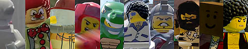 personnages Lego city Undercover