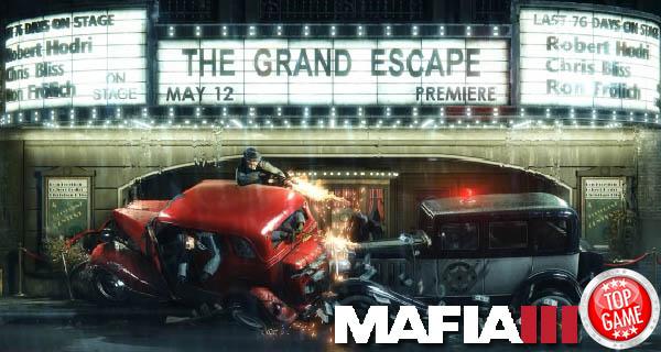 Mafia III's Lincoln Clay Cover