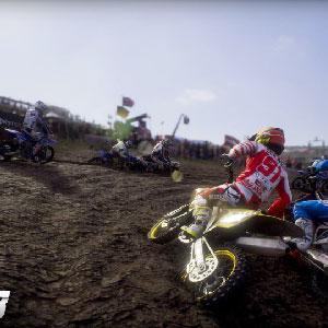 Course de Motocross MXGP 3
