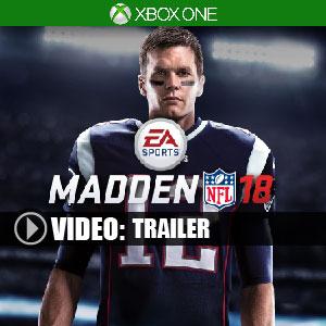 Acheter Madden NFL 18 Xbox One Code Comparateur Prix